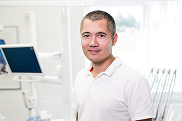 male dental practice owner